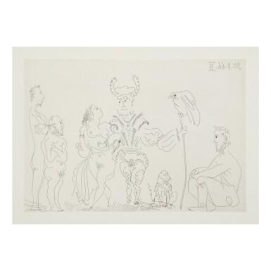 View 2. Thumbnail of Lot 169. PABLO PICASSO | LE COCU MAGNIFIQUE (B. 1244-1255; BA. 1432-1443; C. BKS 140).