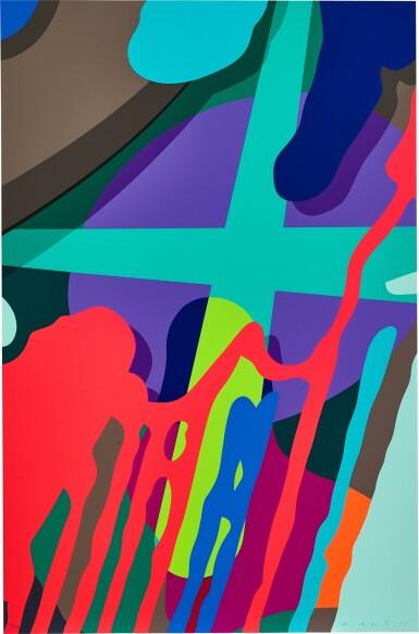 View 2. Thumbnail of Lot 114. KAWS | Tension (Portfolio of 10 Prints) 張力(一套十張).