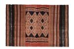 Tissu cérémoniel porisityutu, Toraja / Rongkong, Célèbes, Indonésie, début du 20e siècle | Ceremonial hanging shroud porisityutu, Toraja / Rongkong, Sulawesi, Indonesia, early 20th century