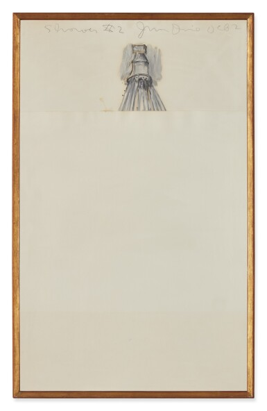 View 2. Thumbnail of Lot 427. JIM DINE | SHOWER #2 .