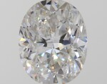 A 1.03 Carat Oval-Shaped Diamond, F Color, SI1 Clarity