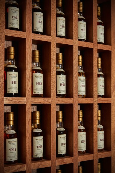 View 4. Thumbnail of Lot 161. THE MACALLAN FINE & RARE MINIATURE COLLECTION          .