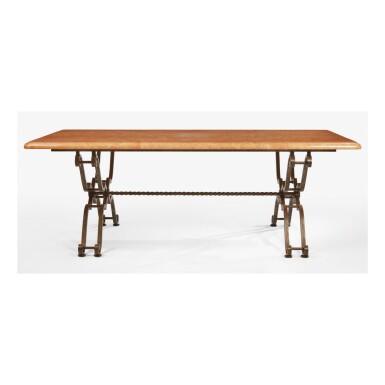 GILBERT POILLERAT | DINING TABLE