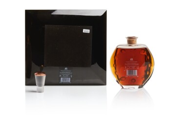 View 14. Thumbnail of Lot 177. THE MACALLAN IN LALIQUE SIX PILLARS COLLECTION WITH FRENCH POLISHED WALNUT CABINET BY JAMES LAYCOCK.