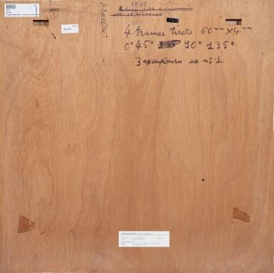 View 2. Thumbnail of Lot 130. 4 trames de tirets 60 mm x 4 mm 0°45°90°135°       .