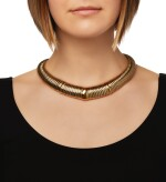 GOLD AND STEEL NECKLACE, CARTIER, FRANCE