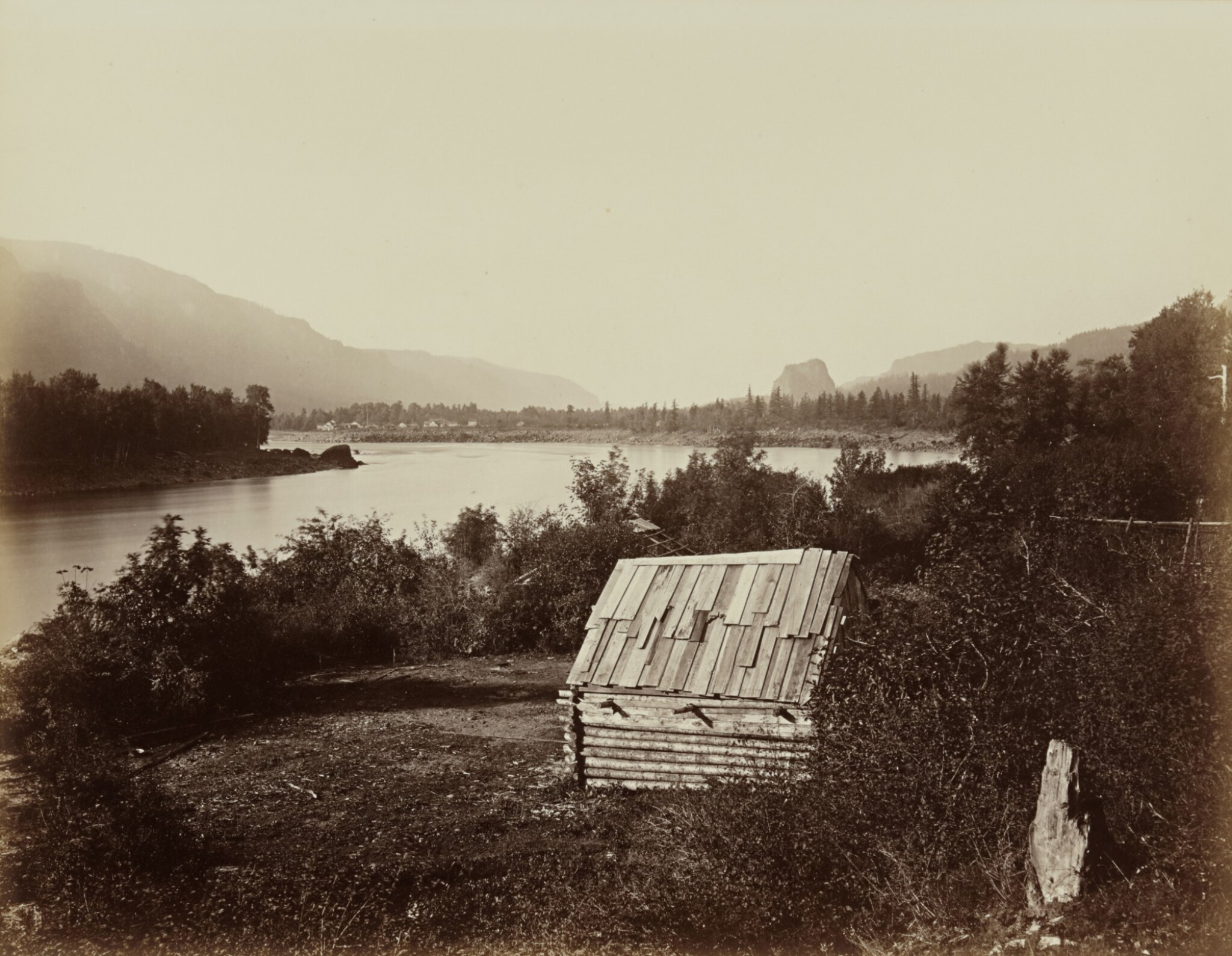 View full screen - View 1 of Lot 21. 'The Garrison, Columbia River'.
