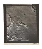 LUNAR ORBITER V. PRINZ CRATER IN THE OCEANUS PROCELLARUM, WITH THE RIMAE PRINZ, TAKEN 06-18 AUGUST, 1967.