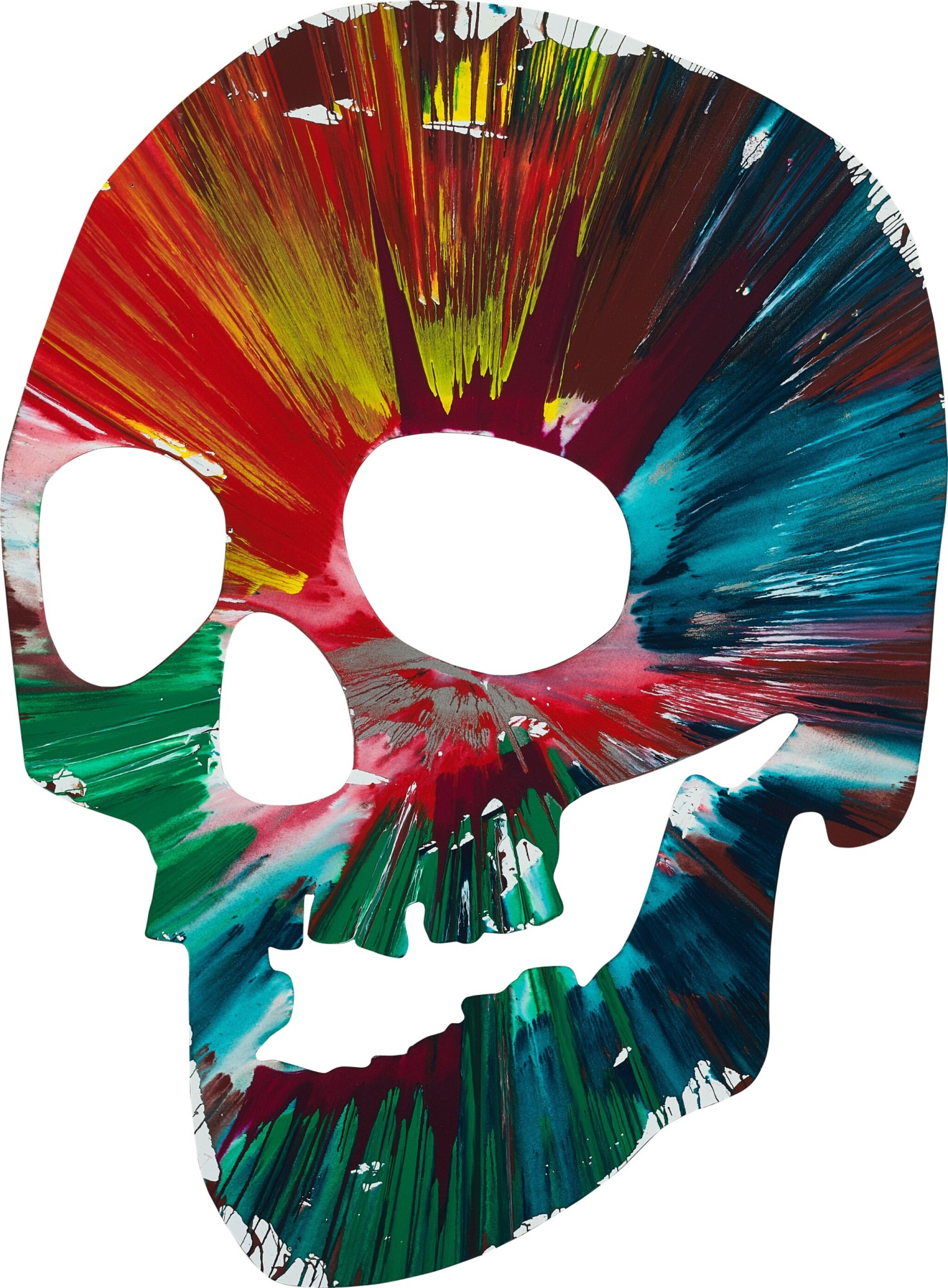 View full screen - View 1 of Lot 4. Untitled (Skull Spin Painting) |  無題(骷髏旋轉畫).