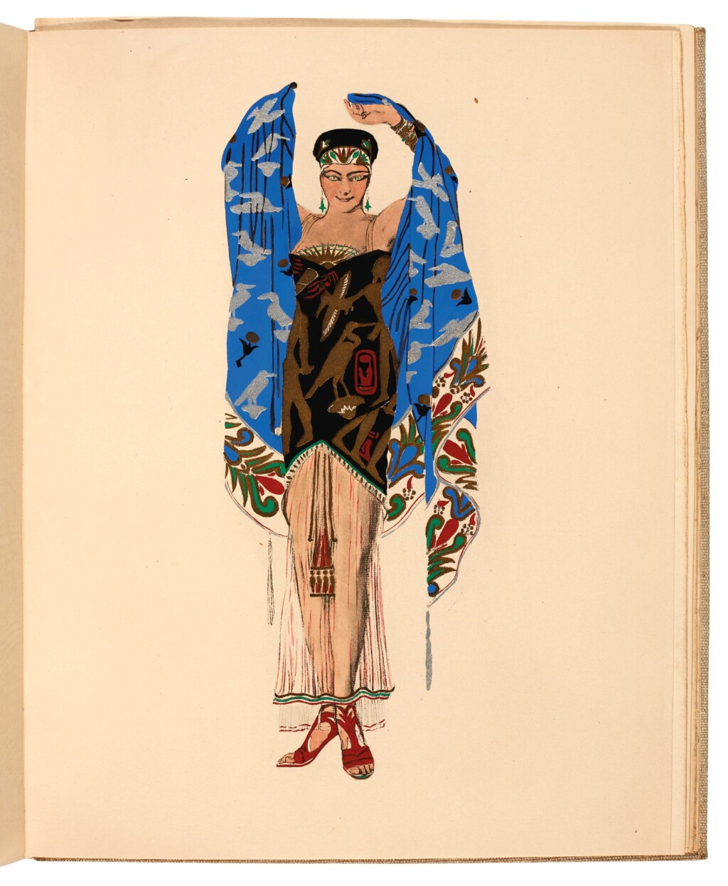 BAKST, LÉON | TWO VOLUMES ABOUT HIS LIFE AND WORK, AMERICAN EDITIONS, COMPRISING: