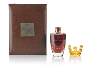 View 2. Thumbnail of Lot 20. The Macallan In Lalique 6 Pillars Collection .