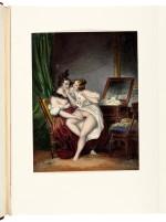 Romantisme secret, an album of erotic prints, [Paris, 1840s-1850s], half red morocco