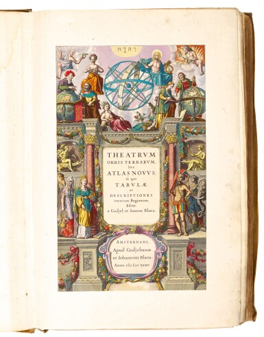 View 2. Thumbnail of Lot 40. Willem and Joan Blaeu | Le theatre du monde, 1643-1645, 4 volumes, contemporary presentation binding.
