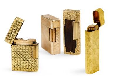 Four lighters [Quatre briquets]