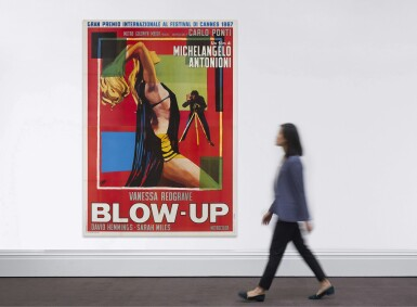 BLOW UP (1967) POSTER, ITALIAN