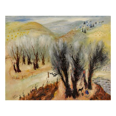 REUVEN RUBIN | NEAR SAFED