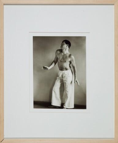View 4. Thumbnail of Lot 63. AUGUST SANDER   'PAINTER (GOTTFRIED BROCKMANN)', 1924; AND 'DANCER (RAOUL HAUSMANN)', 1938 .