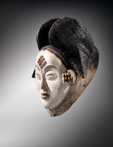 View 2. Thumbnail of Lot 41. Masque, Punu, Gabon | Punu mukuya mask.
