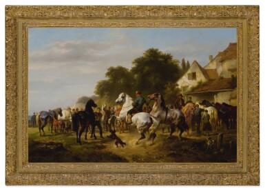 View 2. Thumbnail of Lot 682. The Horse Fair.