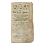 Psalms: The Bay Psalm Book | The unique surviving copy of the earliest obtainable American edition of the Bay Psalm Book