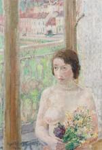 Jeune fille aux fleurs
