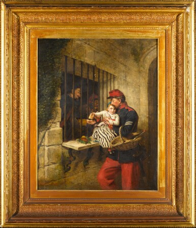 View 2. Thumbnail of Lot 104. Interior of Marseilles Prison, a Scene from Little Dorrit.