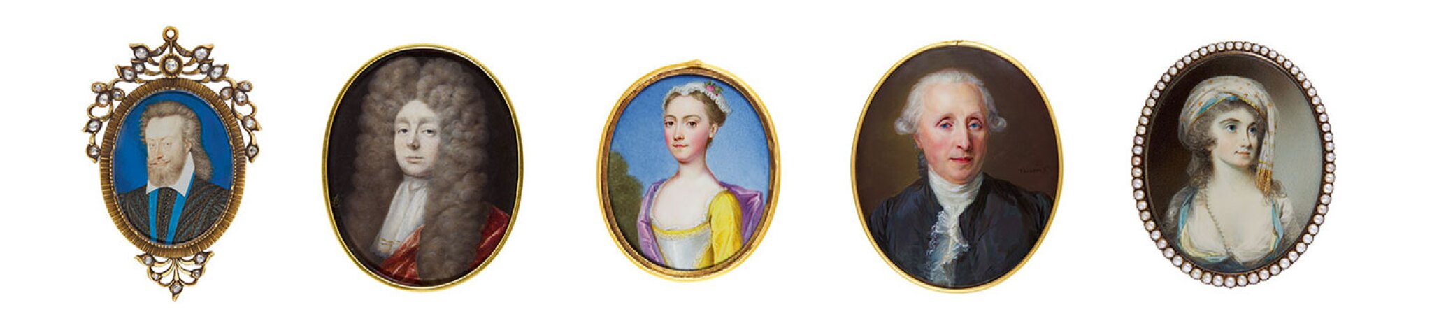 The Pohl-Ströher Collection of Portrait Miniatures, Part III