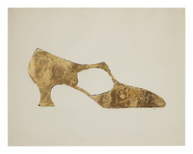 ANDY WARHOL | GOLD SHOE