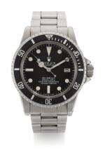 ROLEX |  SEA-DWELLER GREAT WHITE, REFERENCE 1665, STAINLESS STEEL WRISTWATCH WITH HELIUM ESCAPE VALVE DATE AND BRACELET, CIRCA 1978
