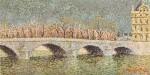 Pont du Louvre avant L'orage