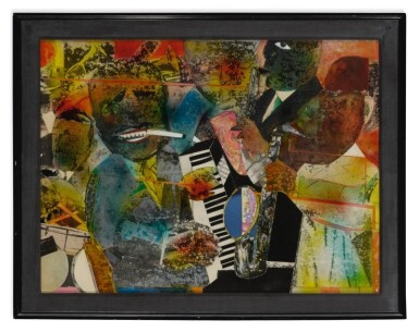 View 2. Thumbnail of Lot 3. ROMARE BEARDEN |  VAMP TIME - CHICAGO (OF THE BLUES).