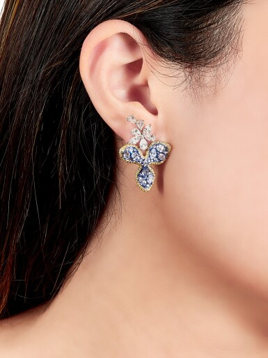 View 4. Thumbnail of Lot 1601. Kröller-Müller Museum x Nalas   'Shining Stars' Pair of Diamond Earrings   Kröller-Müller Museum x Nalas  「梵星」鑽石耳環一對.