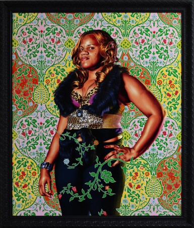 View 1. Thumbnail of Lot 42. KEHINDE WILEY  |  ALEXANDER I, EMPEROR OF RUSSIA.
