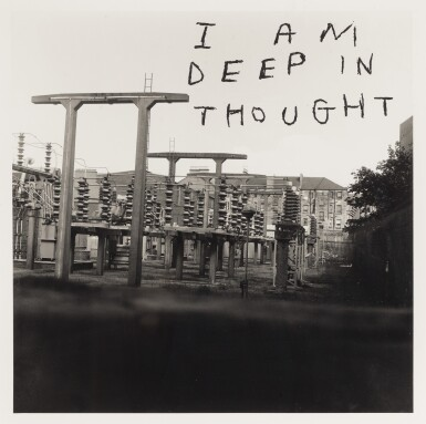 DAVID SHRIGLEY | I AM DEEP IN THOUGHT, 2003