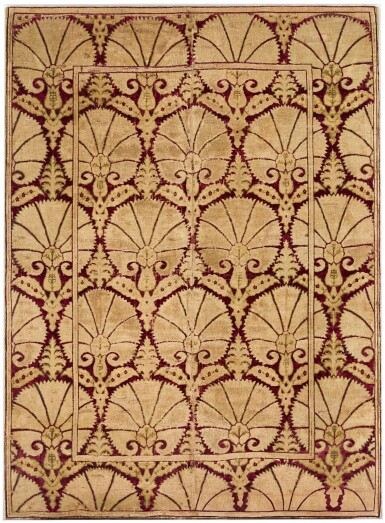 AN OTTOMAN VOIDED SILK VELVET AND METAL-THREAD (ÇATMA) PANEL, TURKEY, BURSA OR ISTANBUL, CIRCA 1600