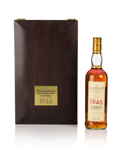 View 1. Thumbnail of Lot 18. The Macallan Select Reserve 52 Years Old 40.0 abv 1946 .