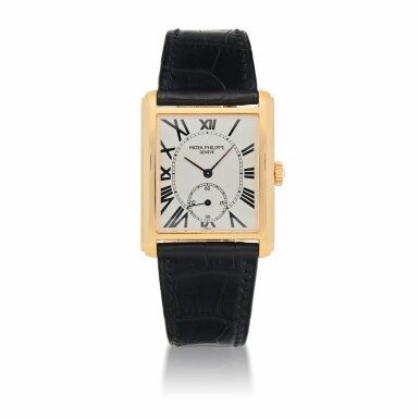 View 1. Thumbnail of Lot 909. GONDOLO, REF 5014 YELLOW GOLD WRISTWATCH MADE IN 2002.