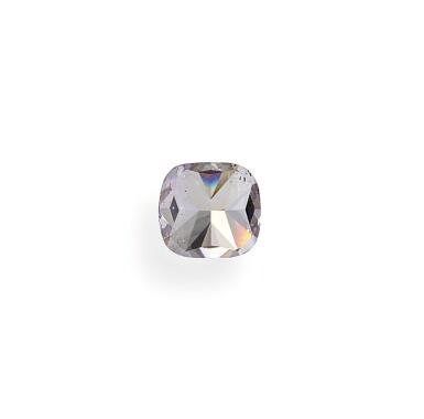 View 5. Thumbnail of Lot 5. A 1.01 Carat Fancy Pink-Purple Cushion-Cut Diamond, SI1 Clarity.