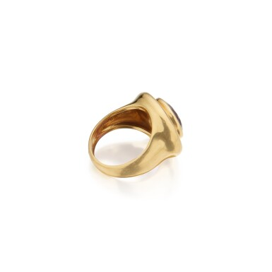 View 2. Thumbnail of Lot 307. Paloma Picasso for Tiffany & Co. | Gold and Amethyst Ring.
