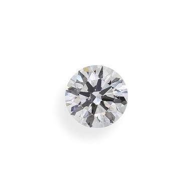 View 1. Thumbnail of Lot 5. A 2.56 Carat Round Diamond, D Color, Internally Flawless.