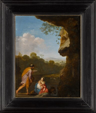 View 2. Thumbnail of Lot 147. The Rest on the Flight into Egypt.