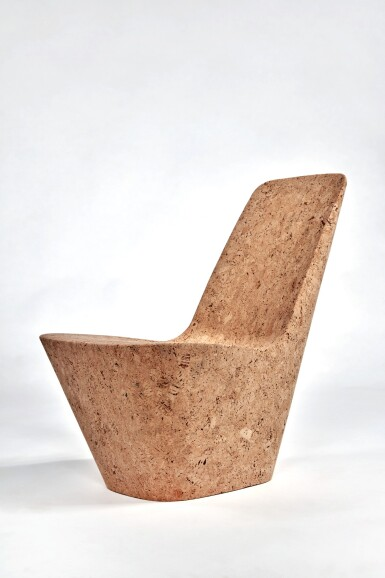View 3. Thumbnail of Lot 115. Pair of Cork Chairs.