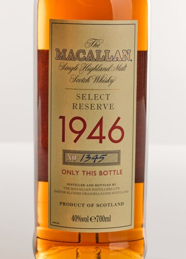 View 2. Thumbnail of Lot 5. THE MACALLAN SELECT RESERVE 52 YEARS OLD 1946.