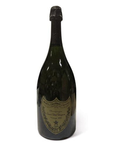 View 1. Thumbnail of Lot 21. Dom Pérignon 1990 (3 MAG).