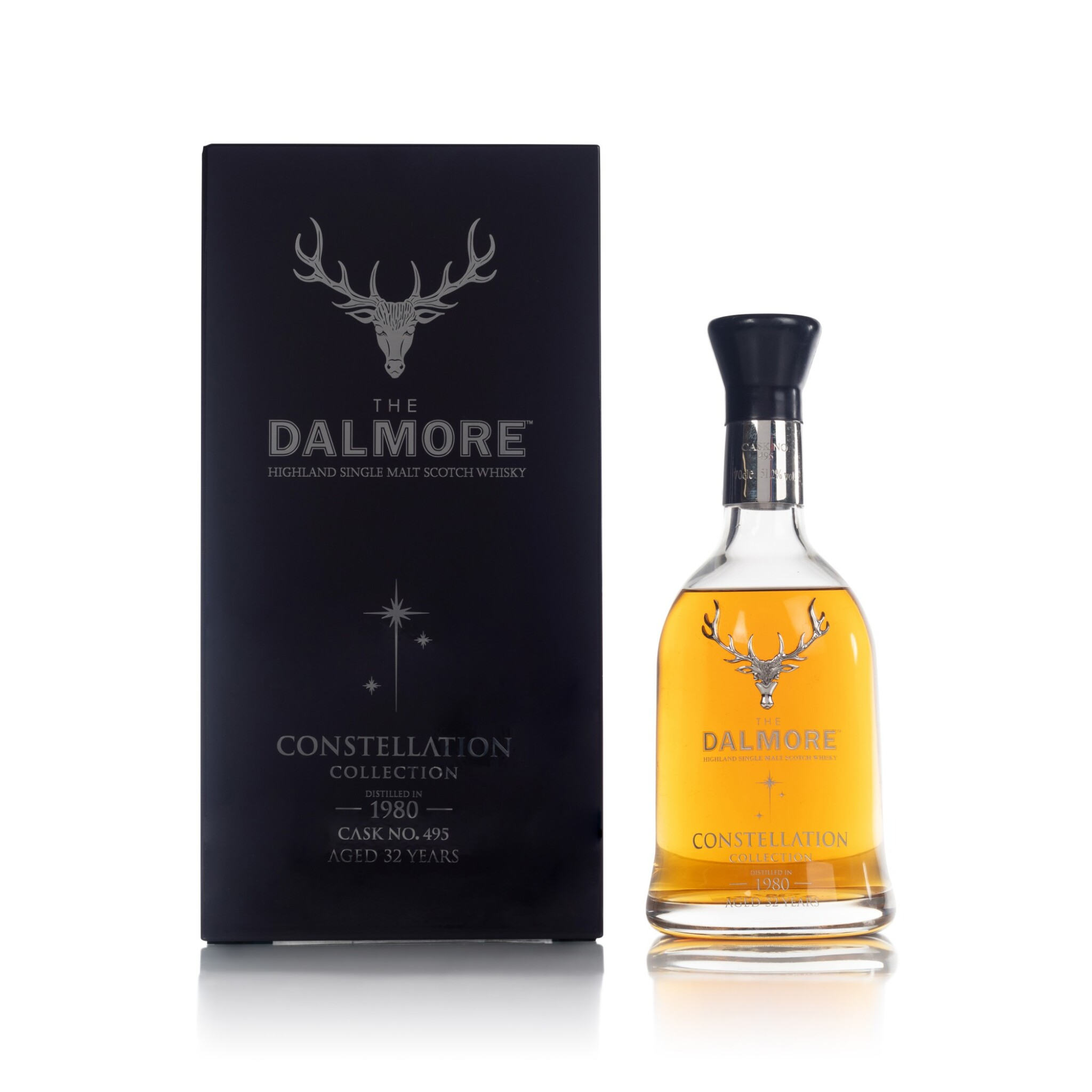 View full screen - View 1 of Lot 68. The Dalmore 32 Year Old Constellation Collection 51.2 abv 1980 (1 BT70).