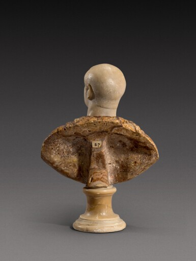 View 4. Thumbnail of Lot 159. Italian, 18th century | Bust of an Emperor.