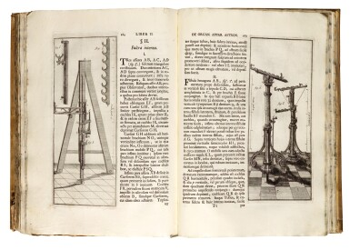 View 2. Thumbnail of Lot 218. Marinoni, De astronomica specula domestica, Vienna, 1745, contemporary vellum.
