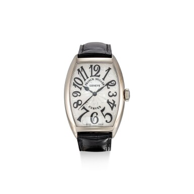 View 1. Thumbnail of Lot 104. FRANCK MULLER   CURVEX, REFERENCE 5850 SC HO A STAINLESS STEEL WRISTWATCH, CIRCA 2018.