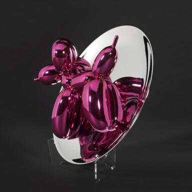 View 2. Thumbnail of Lot 10. Balloon Dog (Magenta).