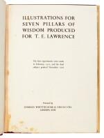 LAWRENCE, T.E. | Illustrations for Seven Pillars of Wisdom, [c.1926/27]